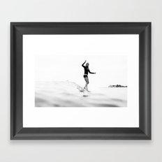 Malibu - Anna Ehrgott Framed Art Print