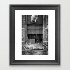 Window 3 Framed Art Print