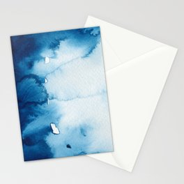 BLUE WINTER #2 Stationery Cards