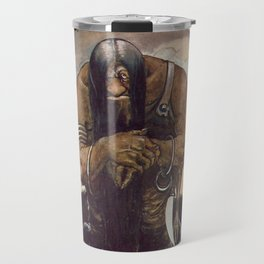 """Old Mountain Troll"" John Bauer Watercolor Travel Mug"