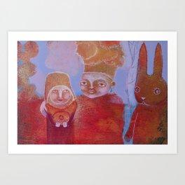 Hlebine Art Print