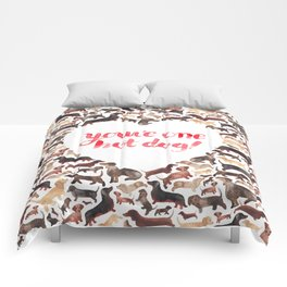 One Hot Dog Comforters