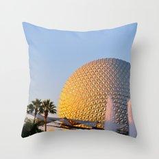 Epcot Ball Throw Pillow