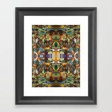 BBQSHOES™: Ebent-D Psychedelic Art Framed Art Print