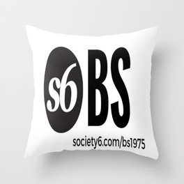 Society 6- BS Throw Pillow