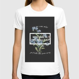 Harry Styles Meet me in the hallway graphic design artwork T-shirt
