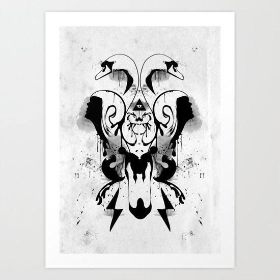 You got the love. Art Print