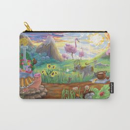 Large Fantasy Hand Painted Print 200x70cm Carry-All Pouch