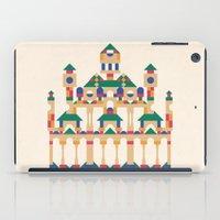 physics iPad Cases featuring Block Façade by C86 | Matt Lyon