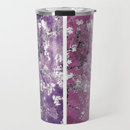 Van Gogh Almond Blossoms Blue Purple Orchid Travel Mug