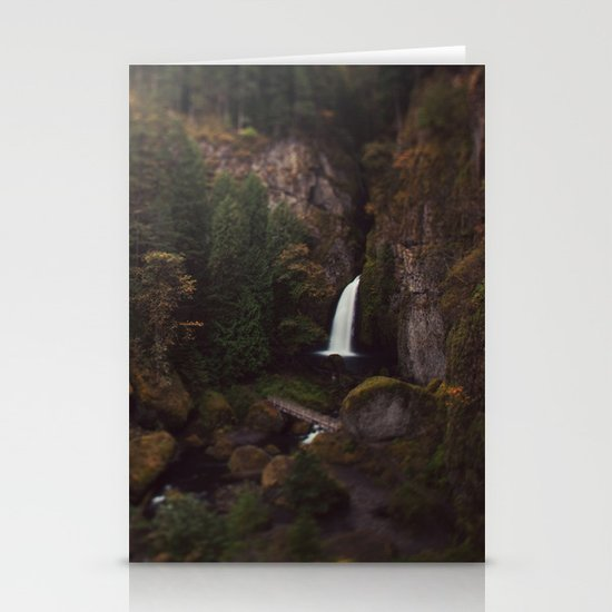 Wahclella Falls Stationery Cards