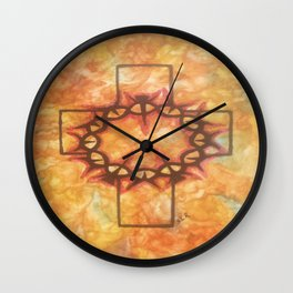 The Passion By Saribelle Rodriguez Wall Clock