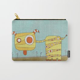 Yellow Blah Carry-All Pouch