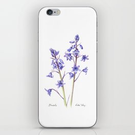 Bluebells iPhone Skin