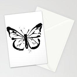 Brushstroke Butterfly 2019-1 by Kathy Morton Stanion Stationery Cards