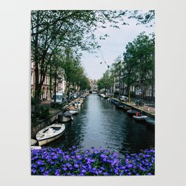 Charming Amsterdam Poster