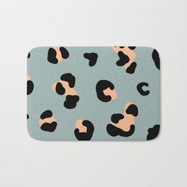 trend leopard pattern Bath Mat