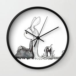 Hair Wall Clock