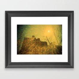 A Very Sunny Day Framed Art Print