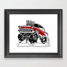 57 Gasser REV-3 RED Framed Art Print