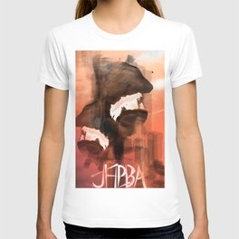 Abstract Reflection on lights T-shirt