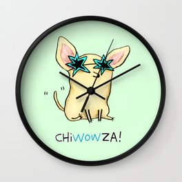 Chiwowza! Wall Clock