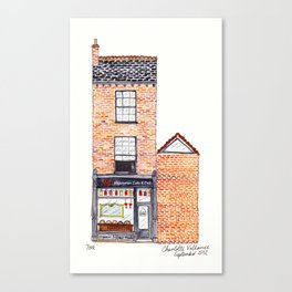 The Cats of York by Charlotte Vallance Canvas Print