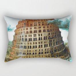 Pieter Bruegel the Elder Tower of Babel Rectangular Pillow