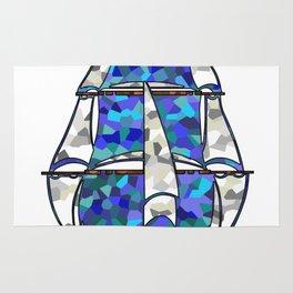 Pirate Ship [Multicolored] Rug