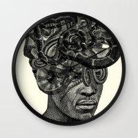medusa Wall Clocks featuring MEDUSA by DIVIDUS