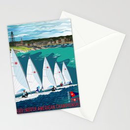 Laser Masters North American Championship 2019 Stationery Cards