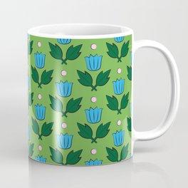 Minimal Floral Pattern Coffee Mug