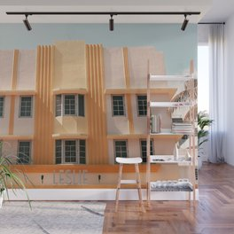 Leslie - Miami Architecture Photograph Wall Mural