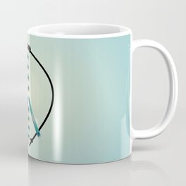 Peace and Skiing Coffee Mug