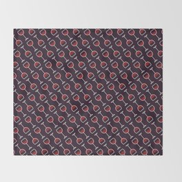 Wine Pattern - Icon Prints: Drinks Series Throw Blanket