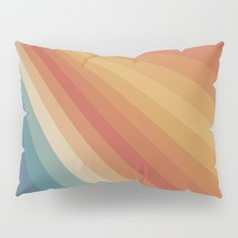 Retro 70s Sunrays Pillow Sham