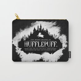 Hufflepuff B&W Carry-All Pouch