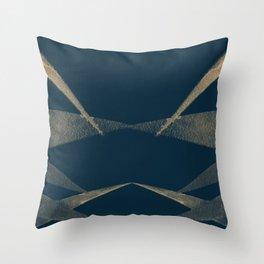 Angular Lines Throw Pillow