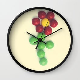 The Sweetest Blossom Wall Clock