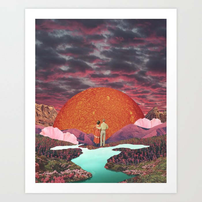 Love times infinity Art Print