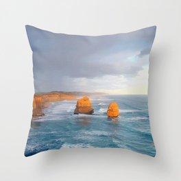 Australia's South Coast Throw Pillow