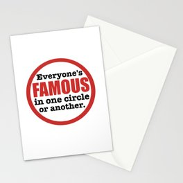 Famous Stationery Cards