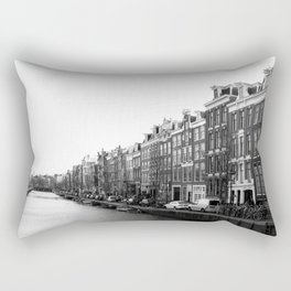 canal in Amsterdam Rectangular Pillow
