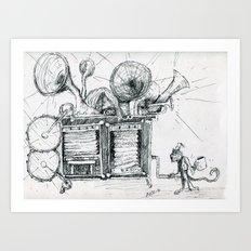 Noisy Art Print