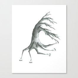 how peculiar Canvas Print