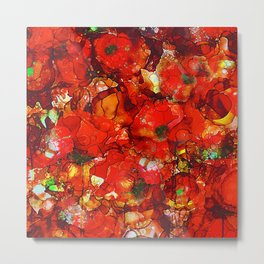 Poppies Metal Print