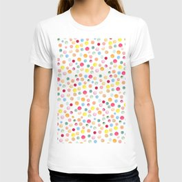 Colorful Watercolour Spots T-shirt