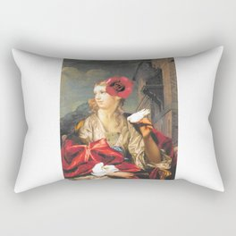 The First Tweet Rectangular Pillow
