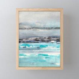 What Floating Feels Like Framed Mini Art Print