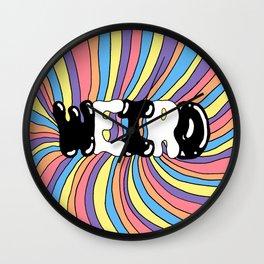 WEIRD Wall Clock